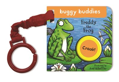 Book cover for Freddy the Frog Buggy Book